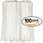 Tarvol Nylon Zip Ties - white cable ties